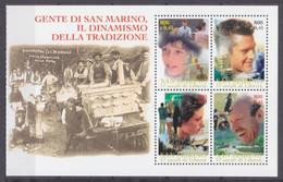 2000San Marino1917-1920/HB111700 Years Of The Republic Of San Marino - Ungebraucht
