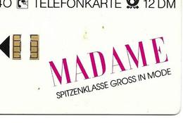 Telecarte Allemagne Madame Spitzenklasse Gross In Mode - Other