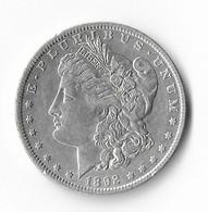 USA=1892-O   SILVER  MORGAN  DOLLAR - 1878-1921: Morgan