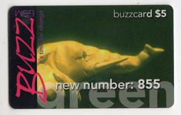 TANZANIE RECHARGE BUZZCARD 5$  ELEPHANT Date 01/01/2004 - Tanzania