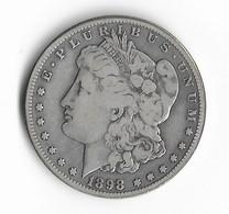 USA=1898-S   SILVER  MORGAN  DOLLAR - 1878-1921: Morgan