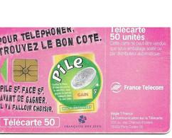 Telecarte  Jeux  Pile Ou Face - Giochi