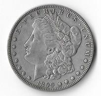 USA=1899   SILVER  MORGAN  DOLLAR - 1878-1921: Morgan