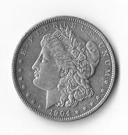 USA=1904   SILVER  MORGAN  DOLLAR - 1878-1921: Morgan