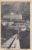 CARTOLINA S.PELLEGRINO,BERGAMO,LOMBARDIA,FUNICOLARE E GRAND HOTEL, CULTURA,RELIGIONE,VIAGGIATA - Bergamo