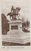 SIENA-MONUMENTO A GIUSEPPE GARIBALDI-CARTOLINA VERA FOTOGRAFIA-NON VIAGGIATA 1920-1930 - Siena
