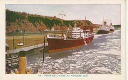 Lorenzo Audet Enr., Quebec # 132 - Port De L'Anse Au Foulon, Quebec - Andere