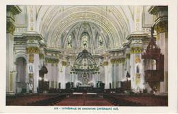 Lorenzo Audet Enr., Quebec # 215 - Cathedrale De Chicoutimi (Interieur), Quebec . - Chicoutimi