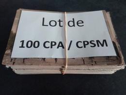 1lo - A352   Lot De 100 CPA / CPSM Format CPA ESSONNE Dep 91 - 100 - 499 Karten
