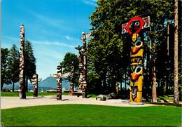 Canada Vancouver Stanley Park Indian Totem Poles - Vancouver