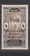 TOGO     YVERT  :   86  NEUF AVEC  CHARNIERES      ( CH   3 / 63 ) - Nuevos