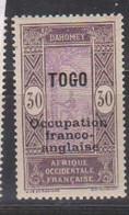 TOGO     YVERT  :   92  NEUF AVEC  CHARNIERES      ( CH   3 / 63 ) - Nuevos