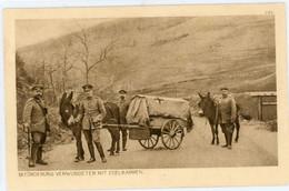 Vogesen ? Beförderung Verwundeter Mit Esel Karren  .14-18.WWI - Weltkrieg 1914-18