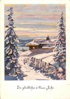 CPSM Illustration Allemande-Neues Jahr    L267 - Contemporanea (a Partire Dal 1950)