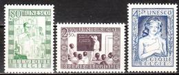 842/44**  UNESCO - Série Complète - MNH** - COB 25 - Vendu à 12.50% Du COB!!!! - Unused Stamps