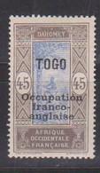 TOGO     YVERT  :   95     NEUF AVEC  CHARNIERES      ( CH   3 / 63 ) - Nuevos