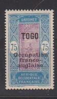 TOGO     YVERT  :   97     NEUF AVEC  CHARNIERES      ( CH   3 / 63 ) - Nuevos