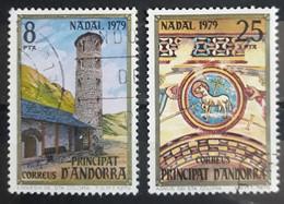 ANDORRA ESPAÑOLA 1979 Christmas Stamps. USADO - USED. - Used Stamps