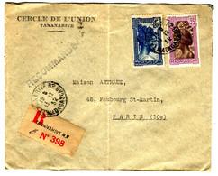 42614 - Recommandée  Pour La France - Storia Postale