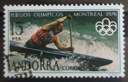 ANDORRA ESPAÑOLA 1976 Olympic In Montreal. USADO - USED. - Used Stamps