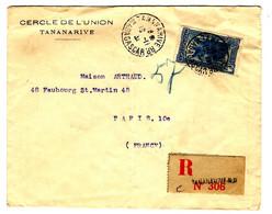 42640 A - Recommandée  Pour La France - Storia Postale