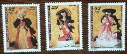 Polynésie - YT N°307 à 309 - Folklore / Poupées Tahitiennes - 1988 - Ungebraucht