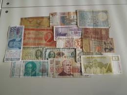 Lot De 16 Billets - Lots & Kiloware - Banknotes