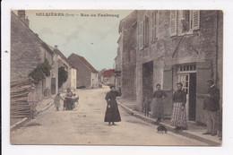 CP 39 SELLIERES Rue Du Faubourg - Otros Municipios