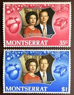 Montserrat 1972 Silver Wedding MNH - Montserrat