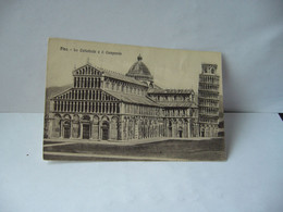 PISA Pise (en Italien Pisa ITALIA ITALIE TOSCANA LA CATHEDRALEE IL CAMPANILE CPA - Pisa