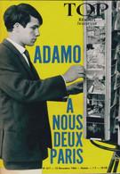 Top Réalités Jeunesse N°317 : Adamo : A Nous Deux Paris De Collectif (1964) - Unclassified