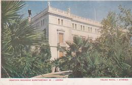 GRECE . Palais Royal ATHENES - Grecia