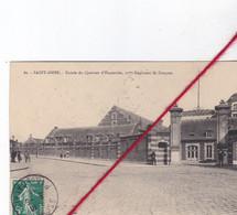 CP 62  -   SAINT OMER  -    Entrée Du Quartier D'Esquerdes, 21éme Régiment De Dragons - Saint Omer