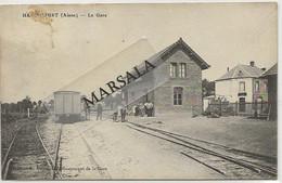 CPA  Hargicourt La Gare - Andere Gemeenten