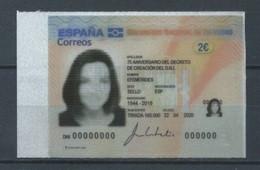 ESPAÑA 2020 ED-5400 ** EFEMÉRIDES. 75 Aniversario Del  Decreto Del DNI - 2011-... Neufs