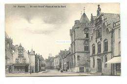 Veurne, Furnes - Un Coin Grand'Place Et Rue Du Nord - Old Belgium Postcard - Veurne