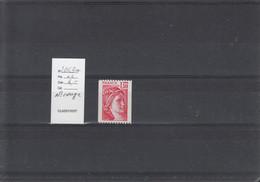 Variété - YT 2063 A  (**) Roulette N° Rouge - Variedades: 1970-79 Nuevos