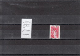 Variété - YT 2104 A  (**) Roulette N° Rouge - Variedades: 1980-89 Nuevos
