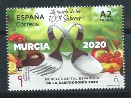 ESPAÑA 2020 ED-5379 ** MURCIA, CAPITAL ESPAÑOLA DE LA GASTRONOMIA 2020 - 2011-... Neufs