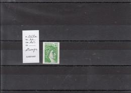 Variété - YT 2157 A  (**) Roulette N° Rouge - Variedades: 1980-89 Nuevos