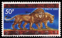 Burundi 0025** 50 Fr Bleu - 1962-69: Nuovi