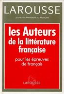 Les Auteurs De La Littérature Française De Evelyne Amon (1994) - Wörterbücher
