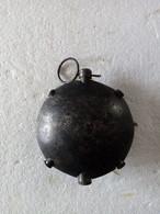 Grenade à Main Allemand - Modèle Disque - Ww1 - INERTE. - Armas De Colección