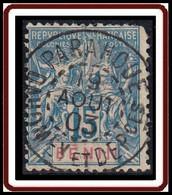 Benin - N° 38 (YT) N° 35 (AM) Oblitéré De Parahoue (1903). Angle Abimé. - Oblitérés