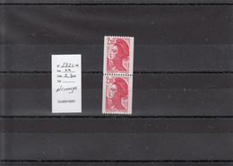 Variété - YT 2322 A - Roulette N° Rouge  (**) - Variedades: 1980-89 Nuevos
