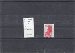 Variété - YT 2379 B - Roulette N° Rouge  (**) - Variedades: 1980-89 Nuevos