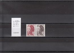 Variété - YT 2179 A - Paire (**) - Variedades: 1980-89 Nuevos