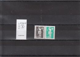 Variété - YT 2617 - Paire (**) - Variedades: 1980-89 Nuevos