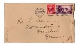 USA MAIL Wisconsin Centenary 1934 Boston - Cartas