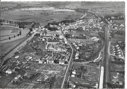 LANEUVEVILLE Devant NANCY - Vue Aérienne - La Meurthe - Le Canal Avec Péniches - Les Usines - Sonstige Gemeinden